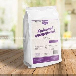 Кукурузный крахмал MVL, 400 г.);