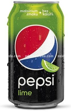 Напиток Pepsi Lime без сахара, 0.33 л.);